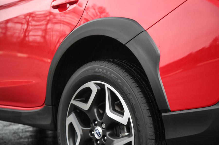 Subaru XV 2.0i Lineartronic SE Premium wheel arches