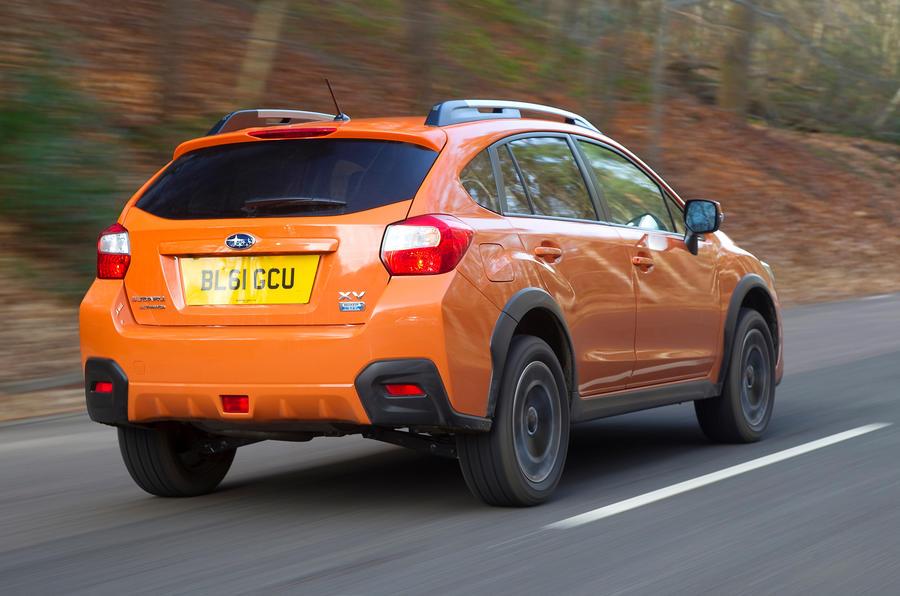 Subaru XV rear quarter