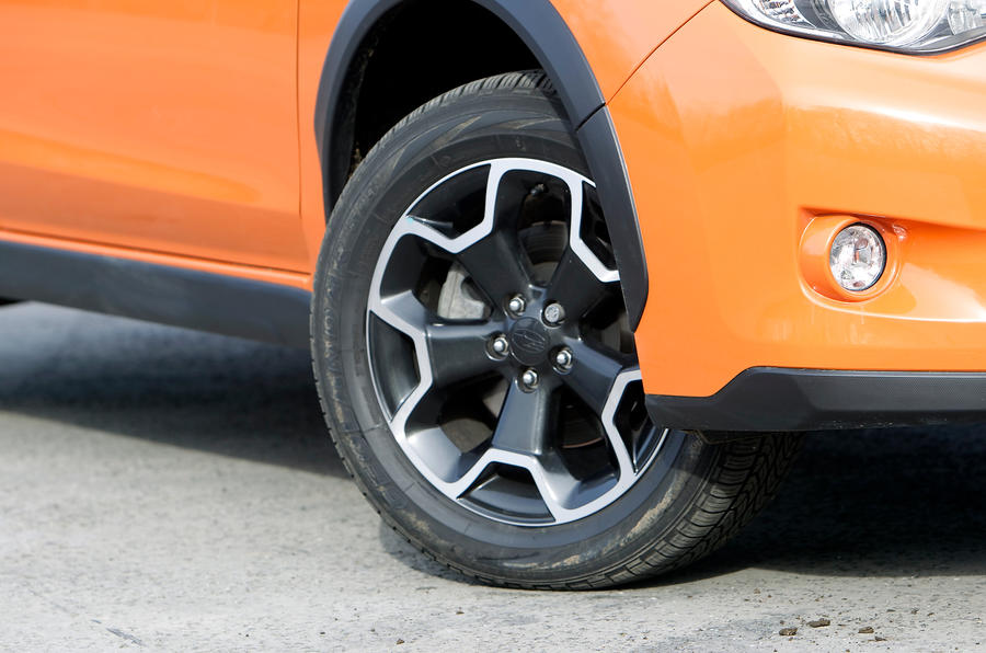 17in Subaru XV alloy wheels