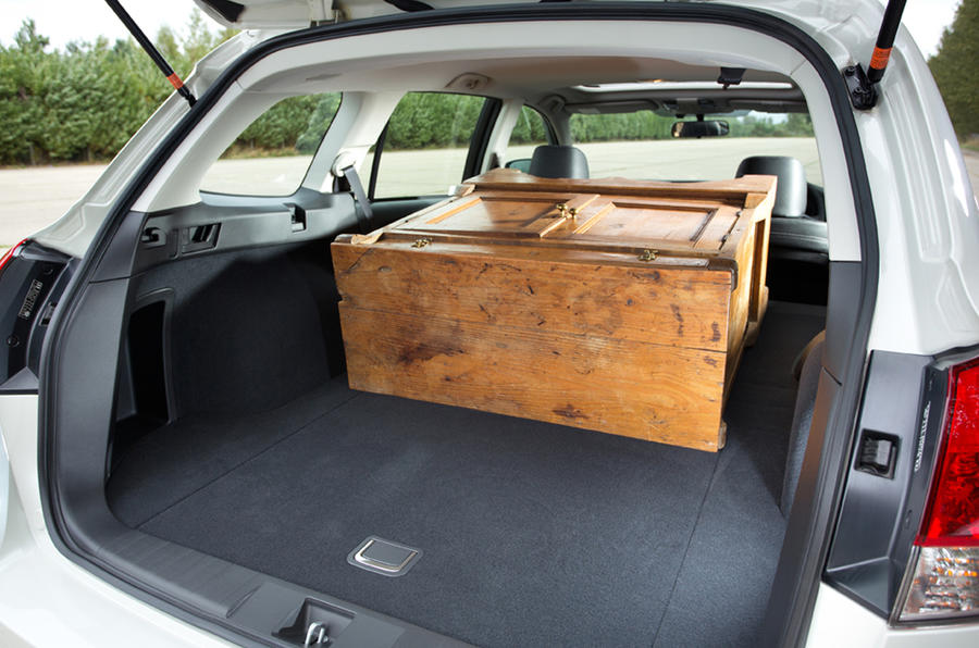 Subaru Outback seat flexibility