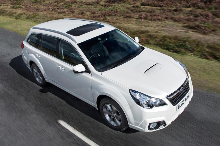 Subaru Outback front quarter