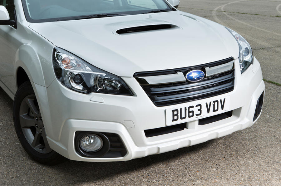 Subaru Outback front end