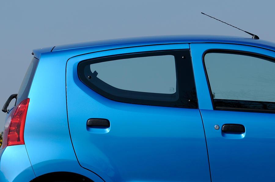 Five-door Suzuki Alto hatchback