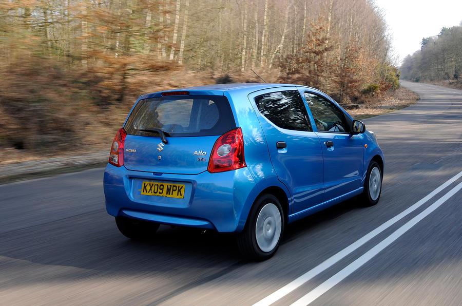 Suzuki Alto rear quarter