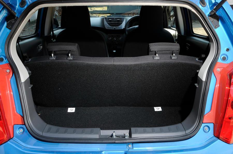 Suzuki Alto boot space