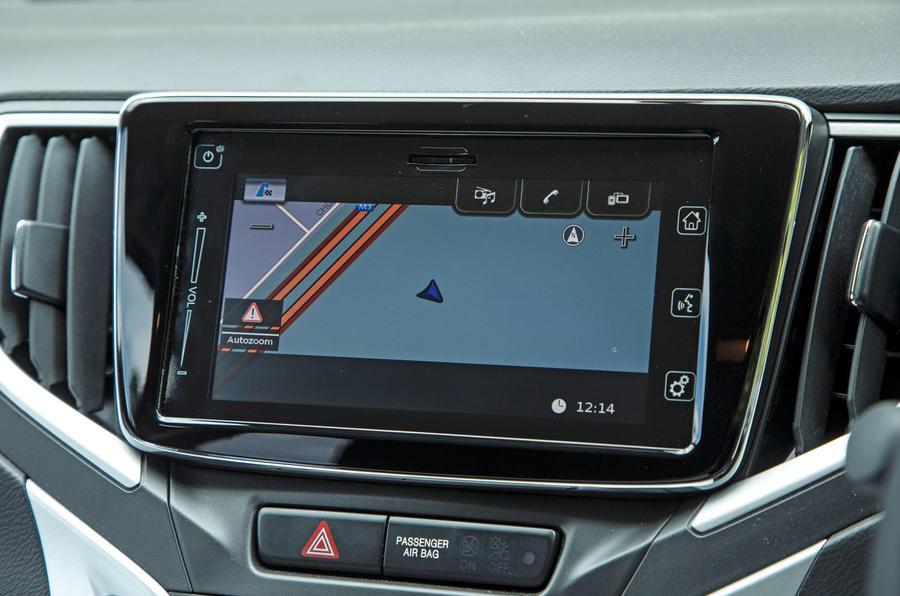 Suzuki Baleno infotainment system