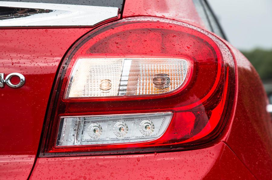 Suzuki Baleno rear lights