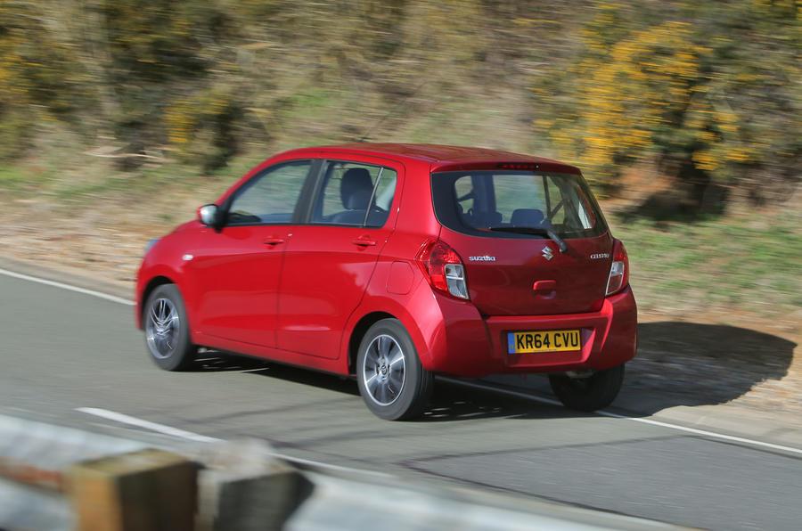 Suzuki Celerio rear