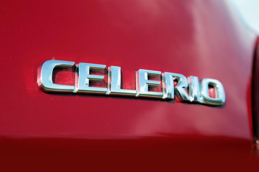 Suzuki Celerio badging