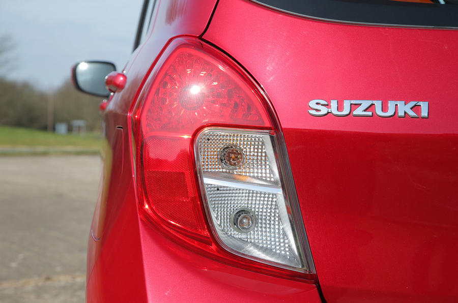 Suzuki Celerio rear lights