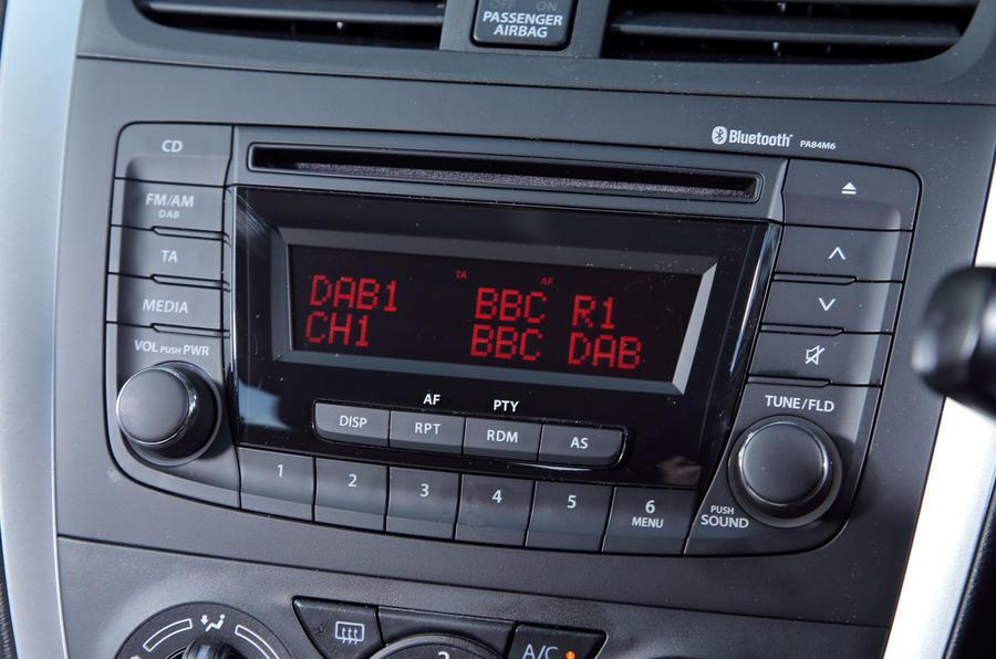 Suzuki Celerio audio system