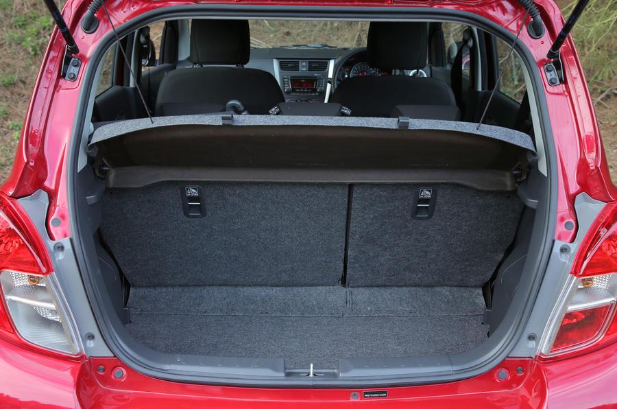 Suzuki Celerio boot space