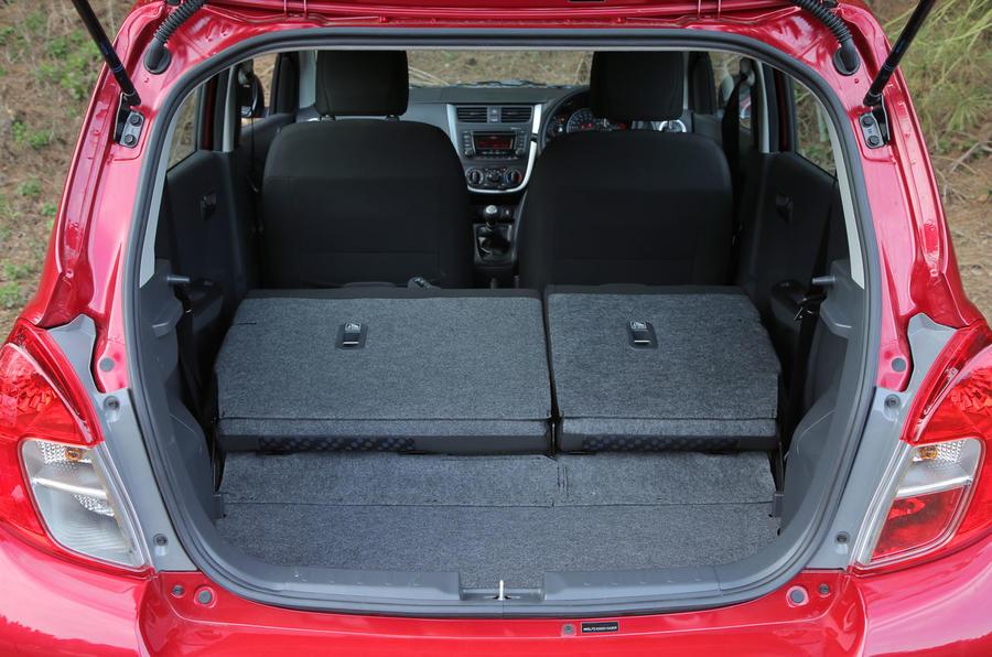 Suzuki Celerio seat flexibility