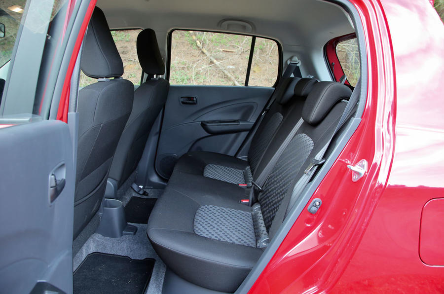 Suzuki Celerio rear seats