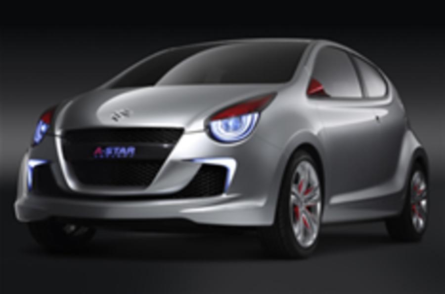 Suzuki's next Alto: Concept A-Star