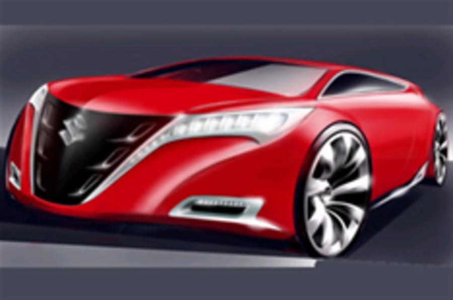 Suzuki's mad-looking Mondeo rival