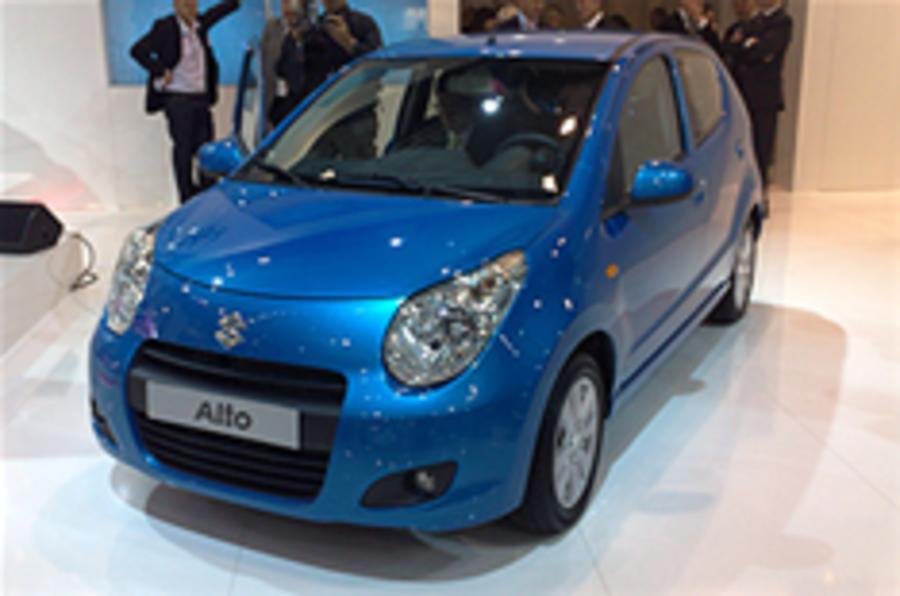 Paris show: Suzuki Alto
