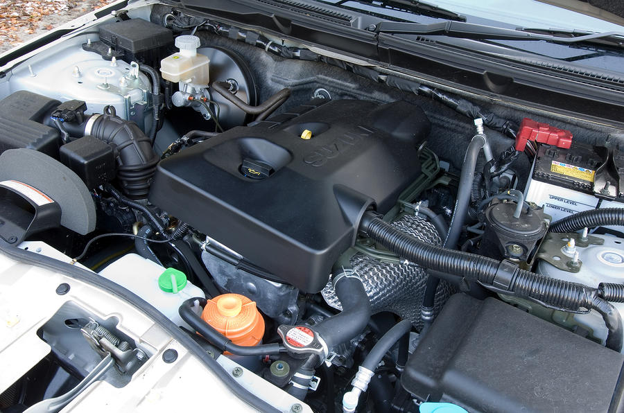 Suzuki Grand Vitara engine bay