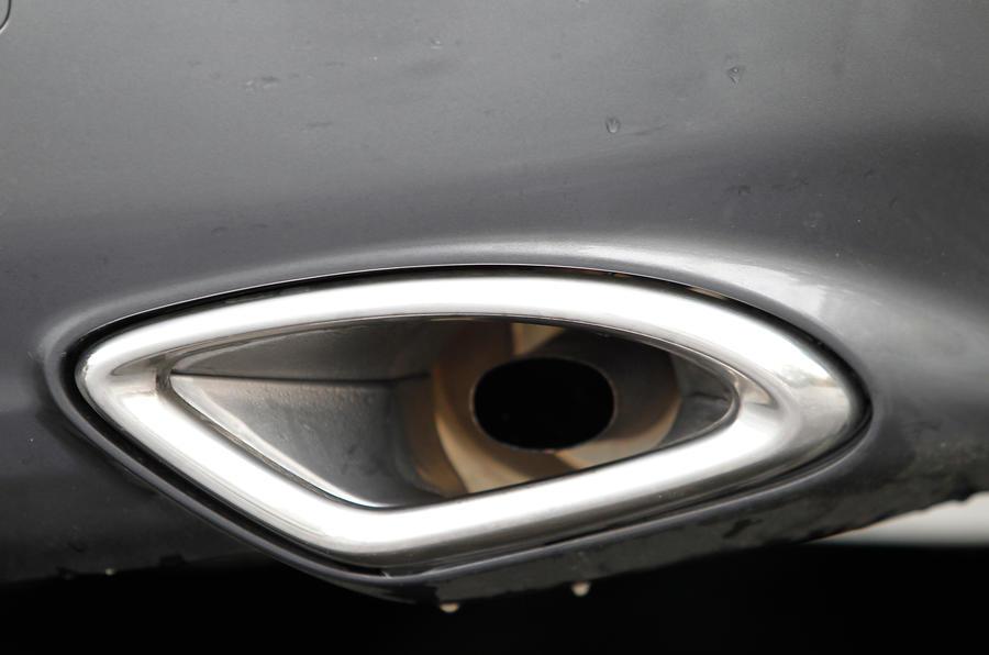 Stainless steel Suzuki Kizashi exhaust