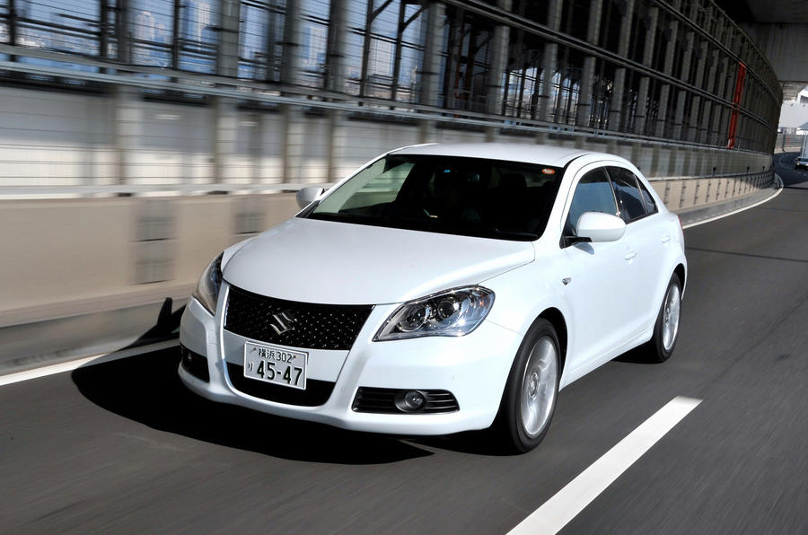 Suzuki Kizashi confirmed for UK