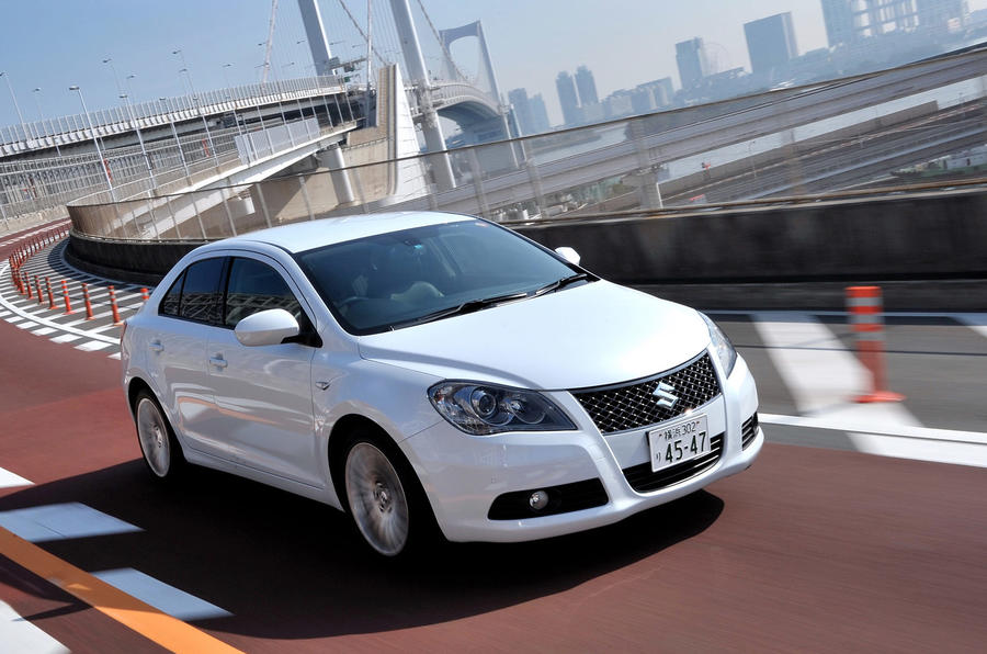 Suzuki Kizashi for Germany