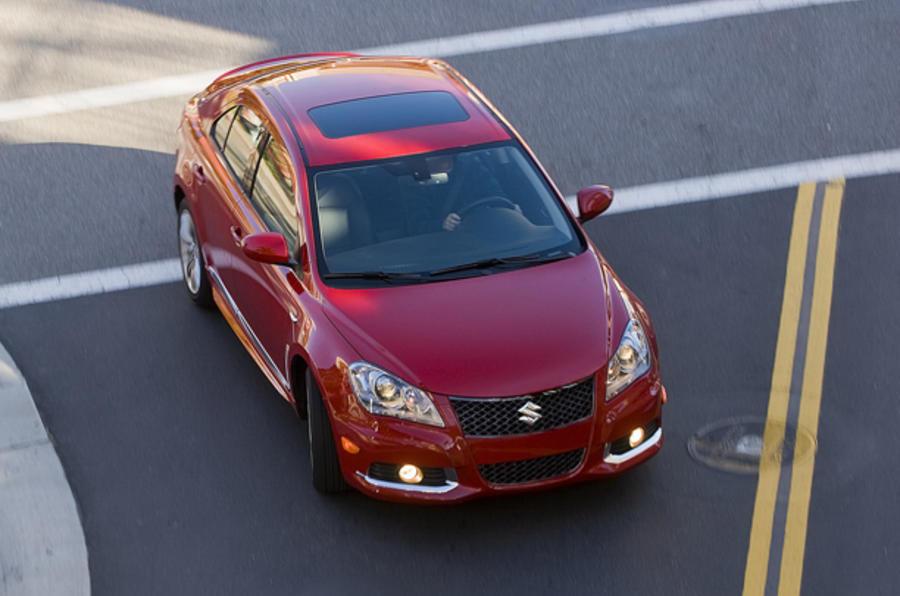 Suzuki Kizashi Sport unveiled