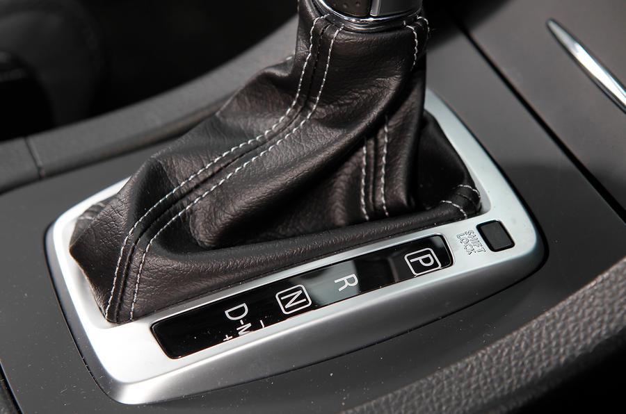 Suzuki Kizashi CVT gearbox