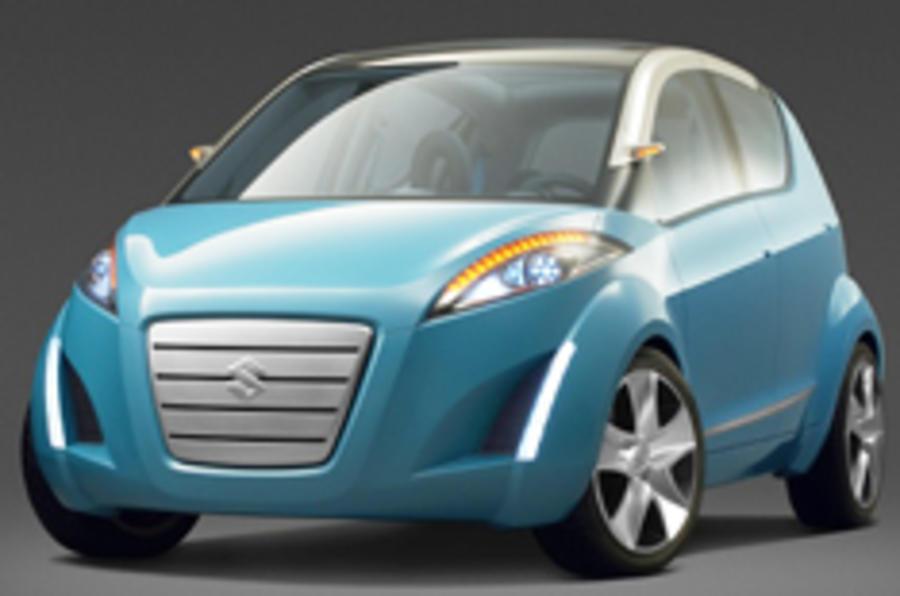 Suzuki's Splash down for Paris