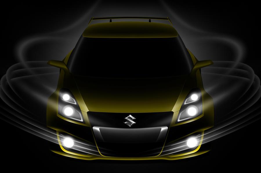 Suzuki shows new Swift Sport