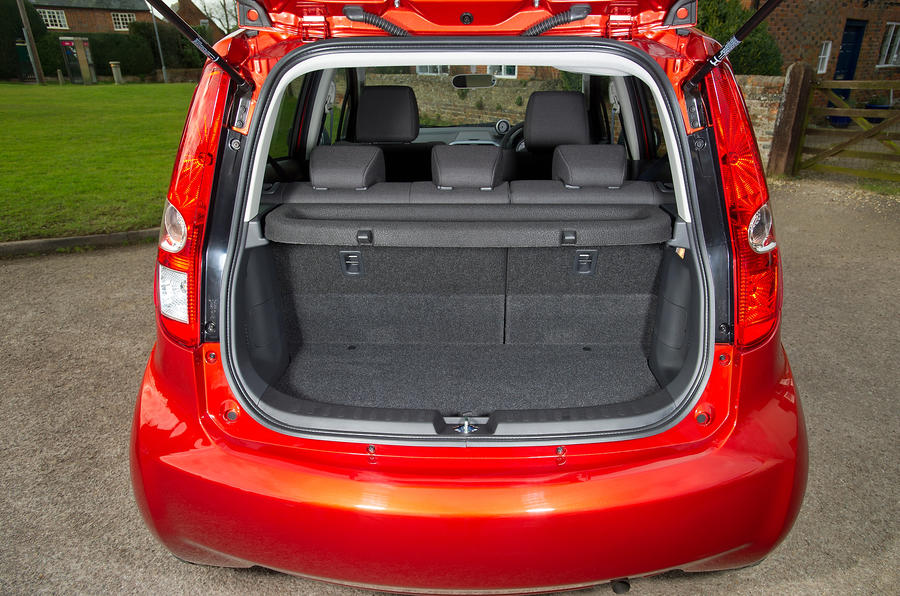 Suzuki Splash boot space