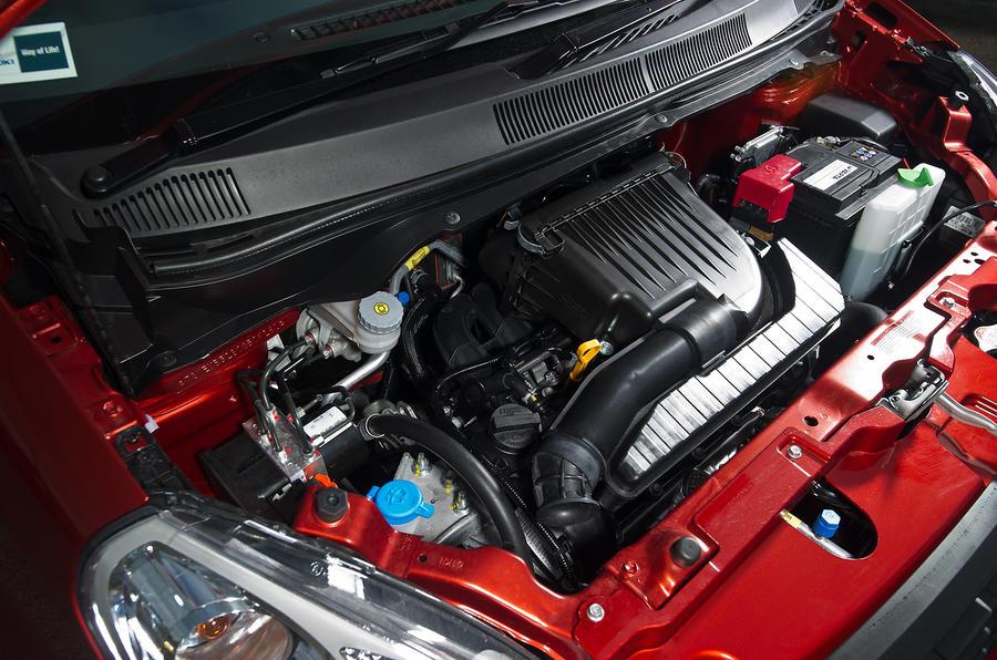 1.0-litre Suzuki Splash petrol engine