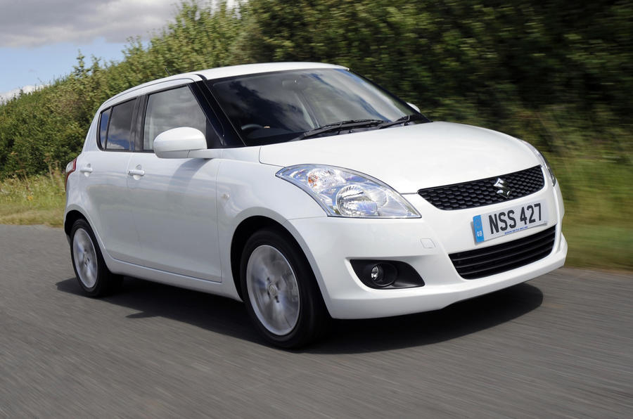 Suzuki Swift Sport from £13.5k