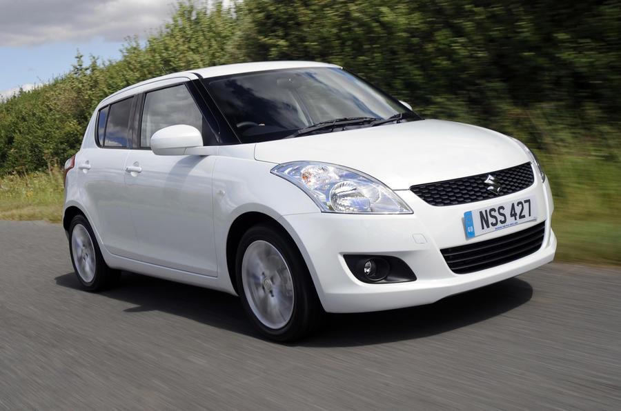 Suzuki Swift Sport from £13.5k