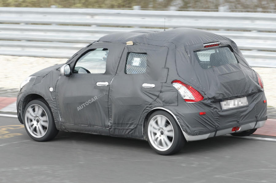 Next Suzuki Swift: latest pics