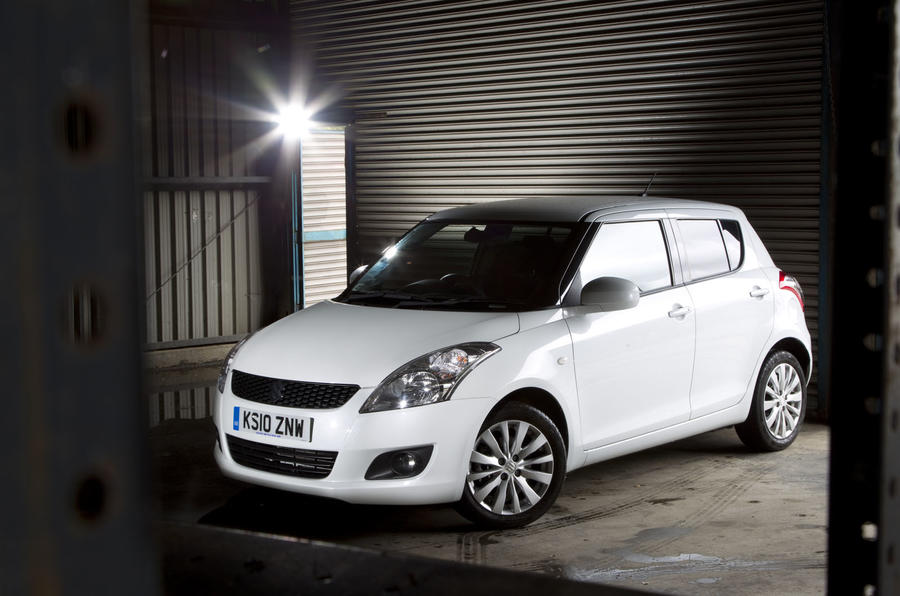 Suzuki plans 4WD Swift