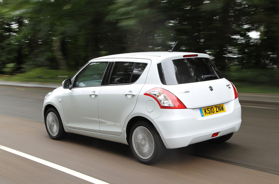 Suzuki Swift rear quarter