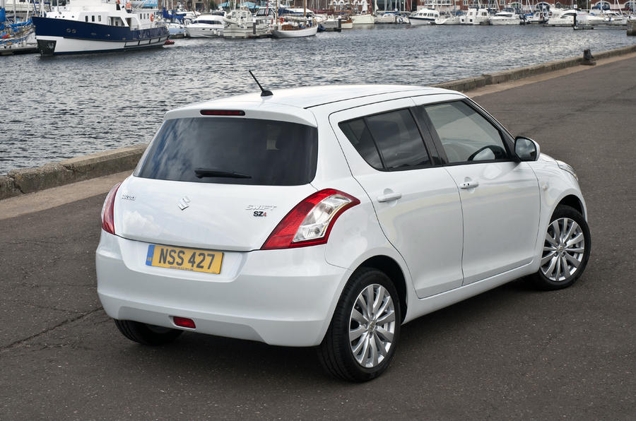 Paris motor show: Suzuki Swift