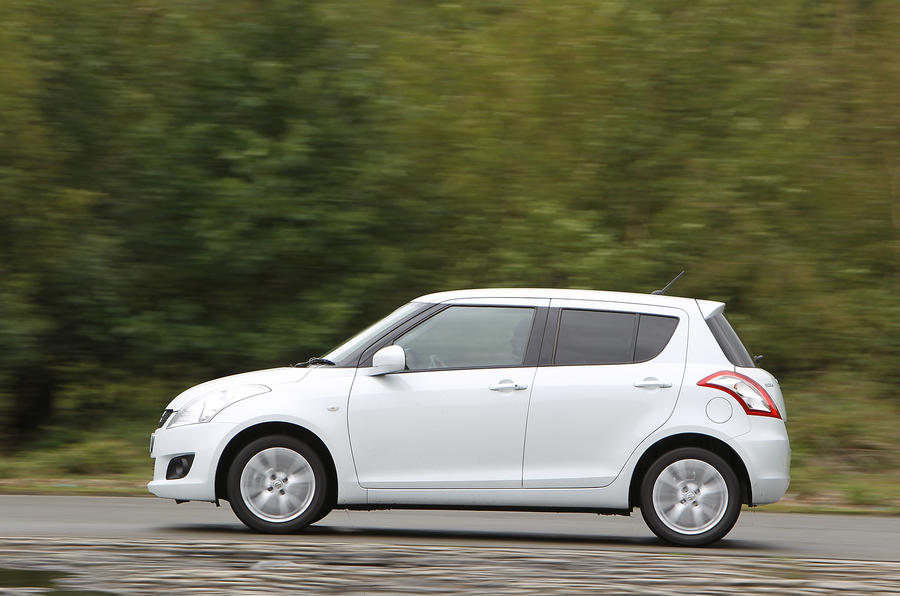 Suzuki Swift side profile