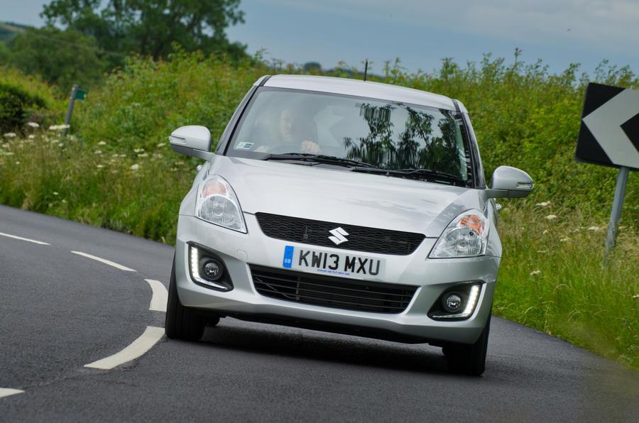 Suzuki Swift cornering