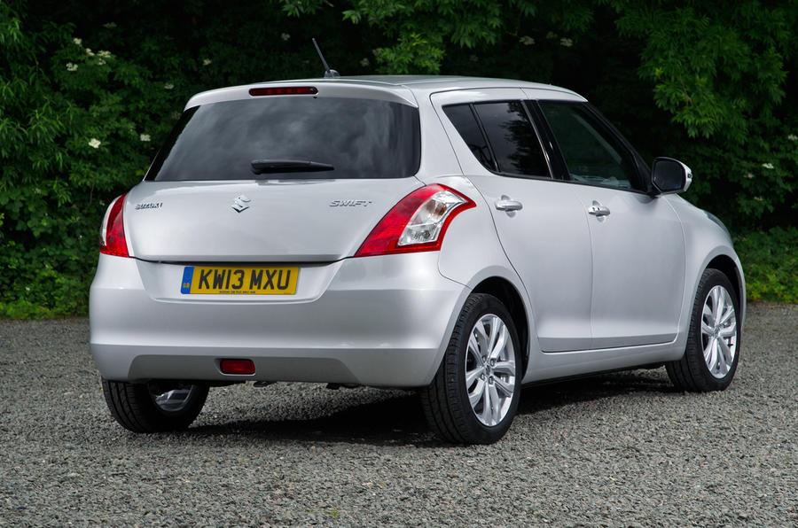 Suzuki Swift rear quarter