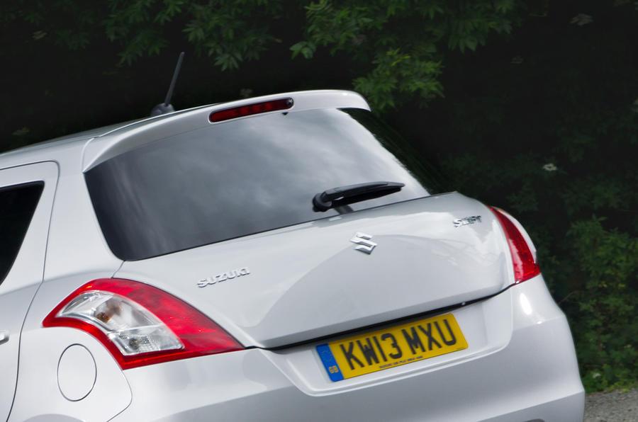 Suzuki Swift rear end