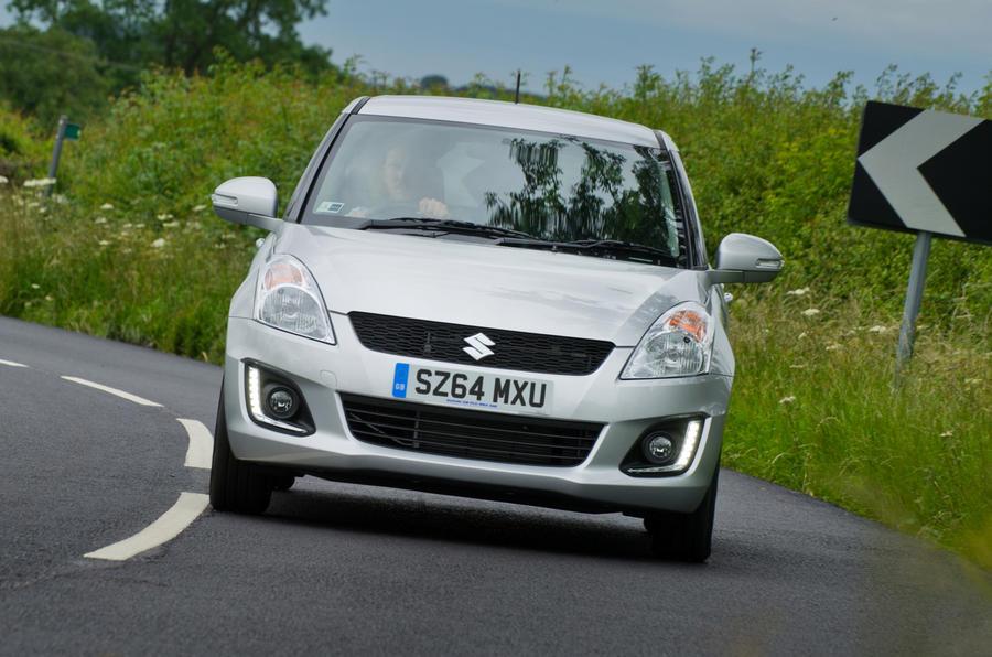 Suzuki Swift 1.2 Dualjet SZ4 first drive review