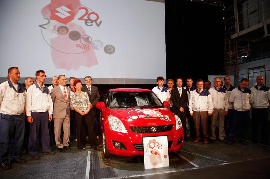 Magyar Suzuki celebrates 2M cars