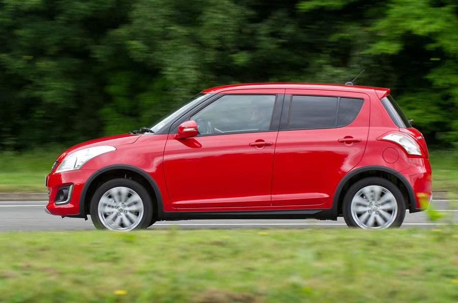 Suzuki Swift 4x4 side profile
