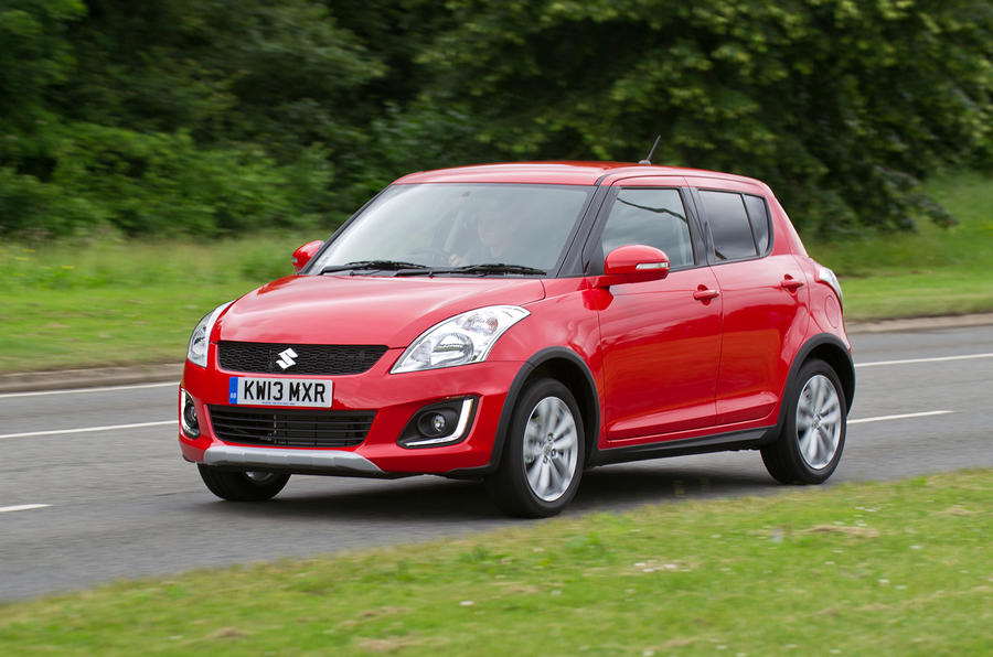 Suzuki Swift 4x4 cornering