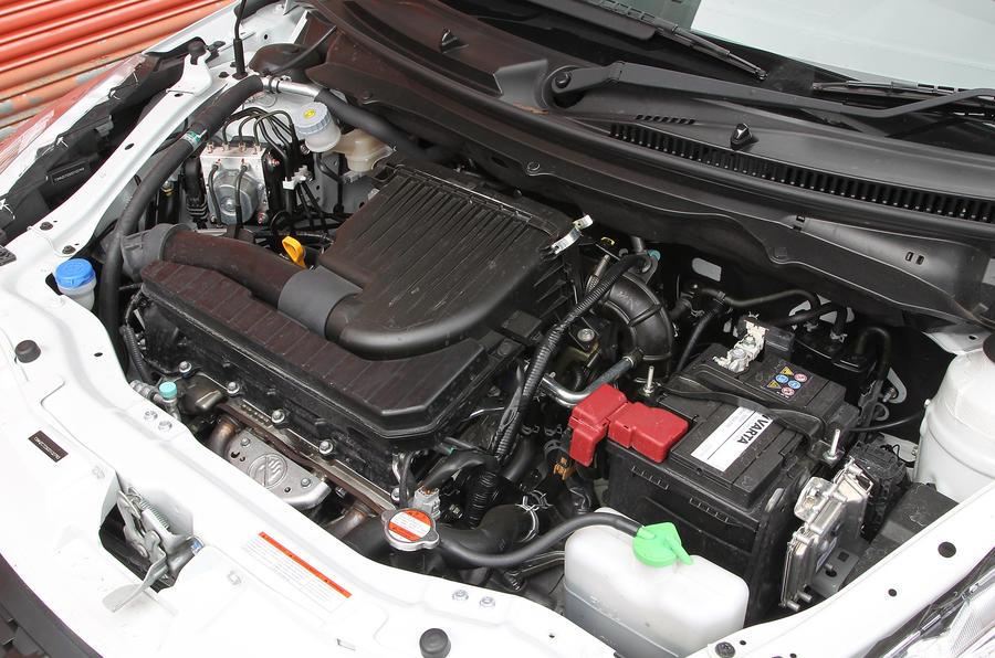 1.2-litre Suzuki Swift petrol engine
