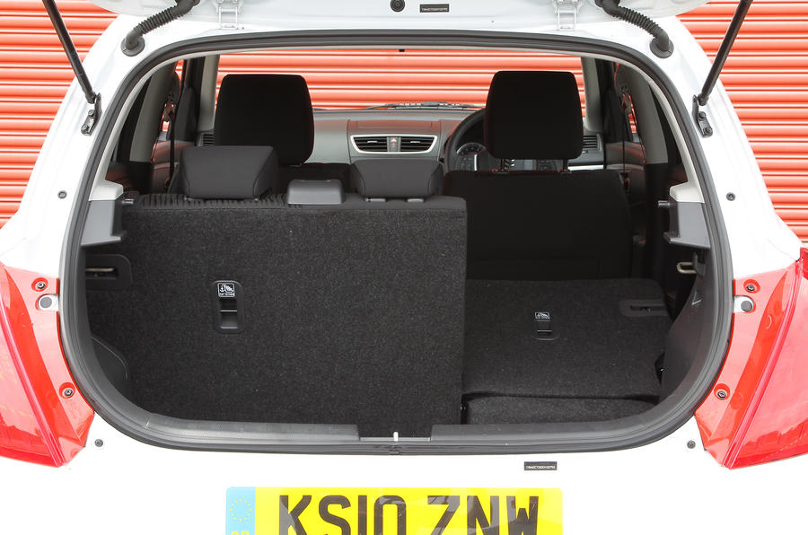 Suzuki Swift Boot Capacity