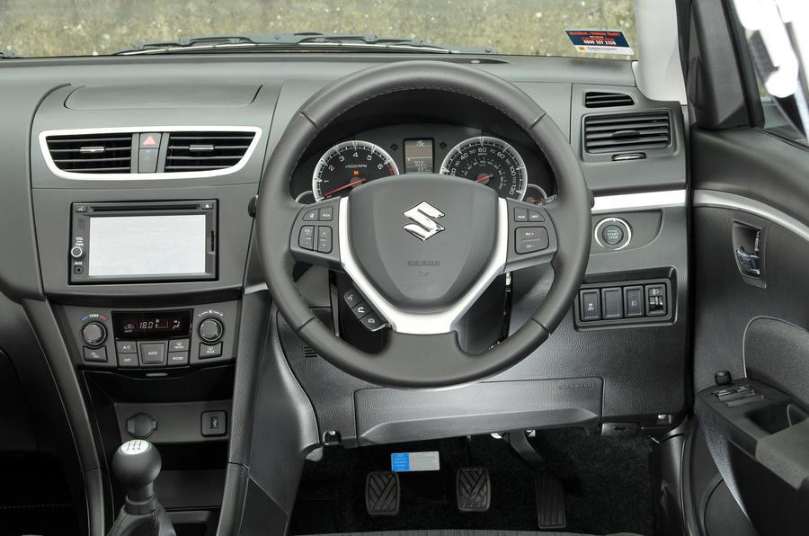 Suzuki Swift dashboard