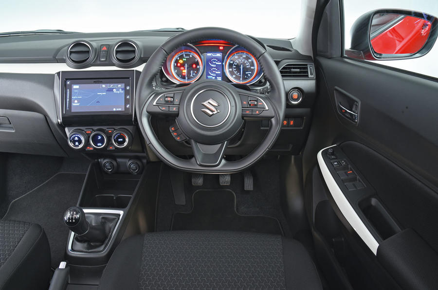 Suzuki Swift interior | Autocar