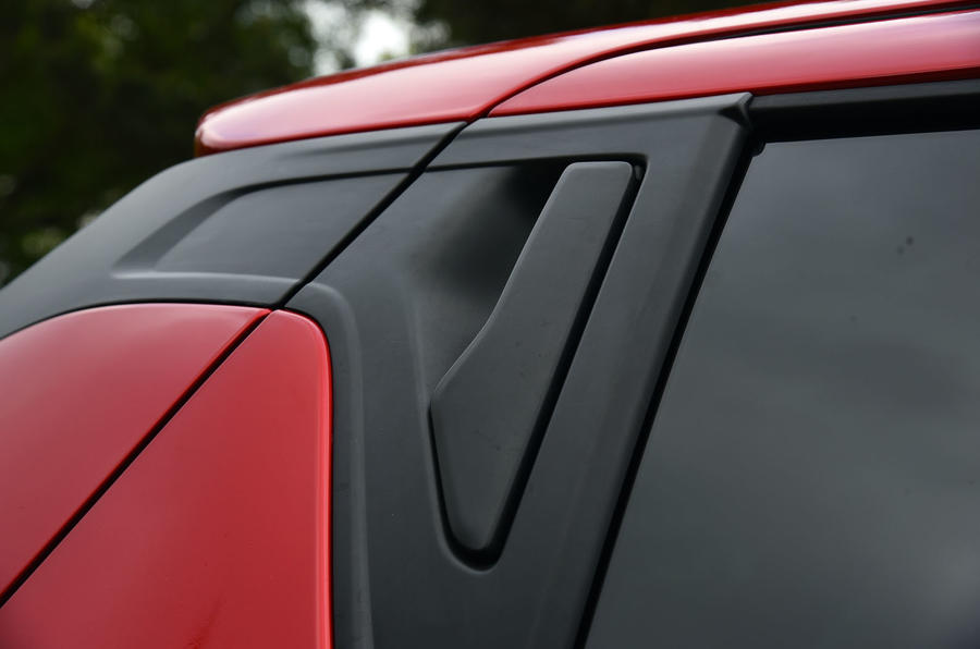 Suzuki Swift rear door handles